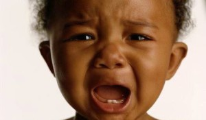 African-American-Crying-Baby-Photo
